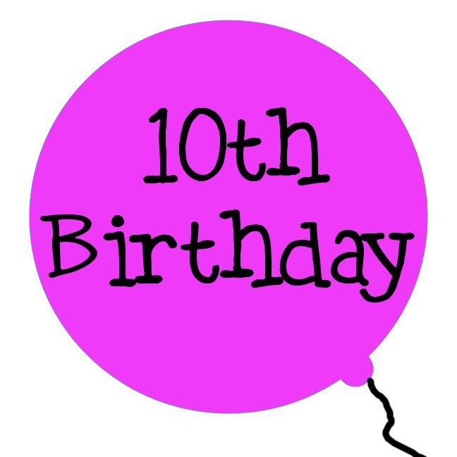 Tenth Birthday