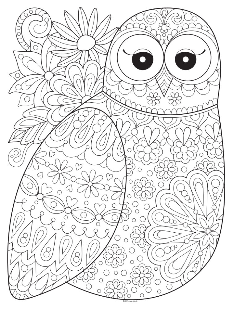 Coloring Posters by Thaneeya