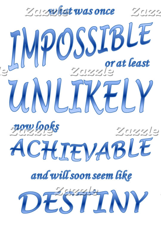 """The """"From Impossible to Destiny"""" Series"""