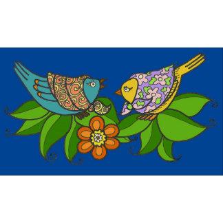 Birds Ukrainian Folk Art
