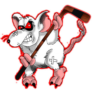 Wharf Rats Cartoon Hockey Team T-Shirt