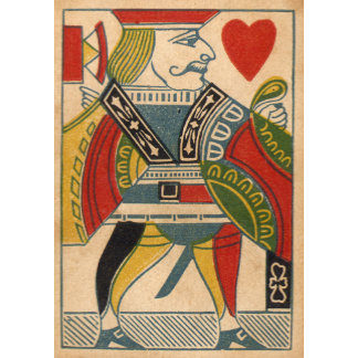 """""""Jack of Hearts Card Poster Print"""""""