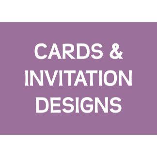 Cards & Invitation Designs