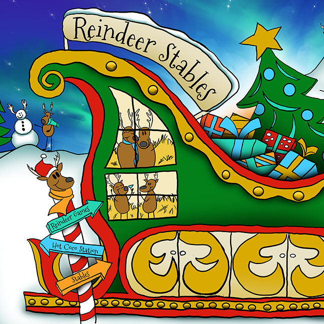 Kris Kringle The Musical's Reindeer Stables