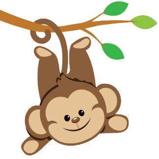 Boy Swinging Monkey