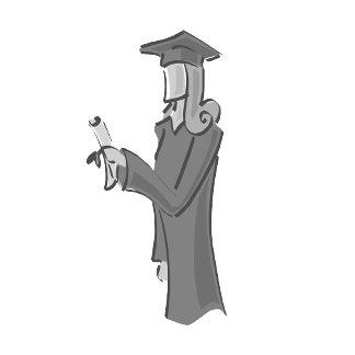 Lady Graduating