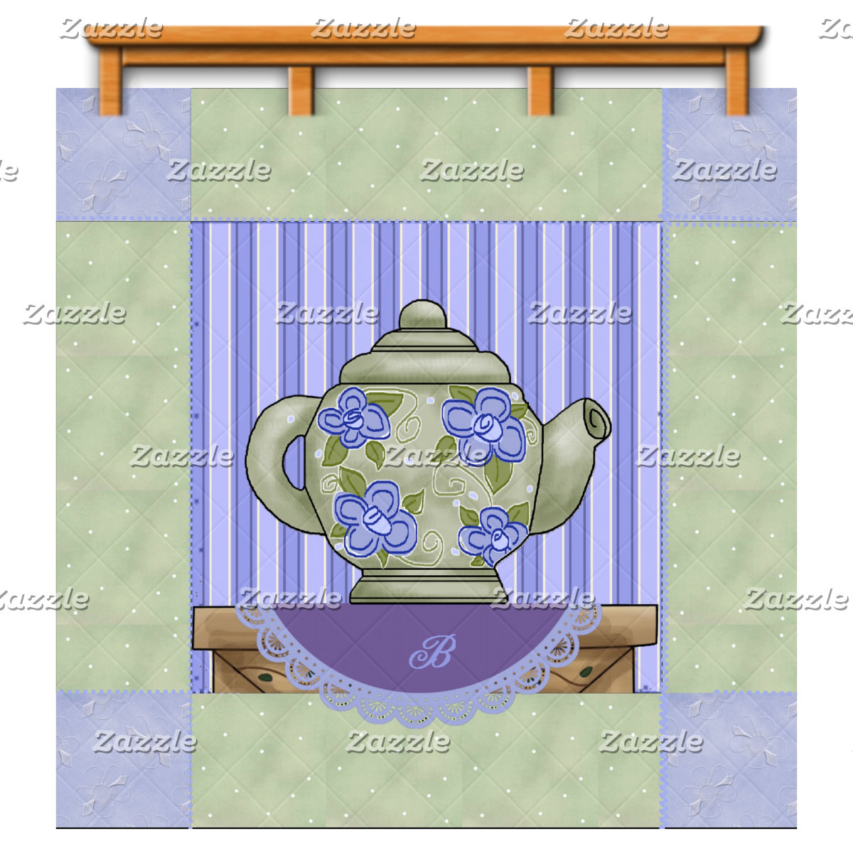 Teapot Quilt Patch