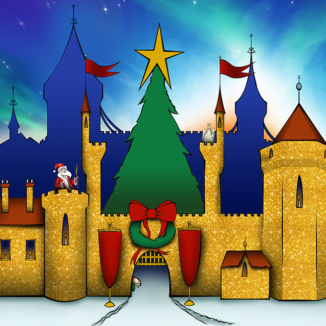 Kris Kringle The Musical's Castle