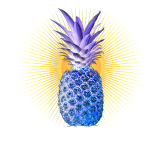 Blue Pineapple Threads
