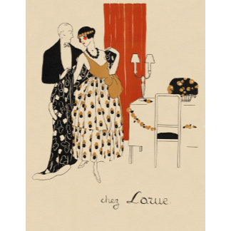 """""""Early 1900's Couple Poster Print"""""""