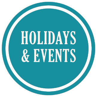 HOLIDAYS & EVENTS items