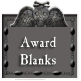 award blanks