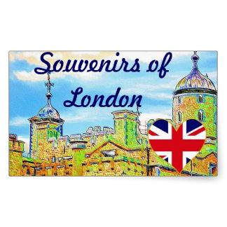 BRITISH SOUVENIR STICKERS