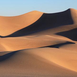 Amazing Shadows of Desert