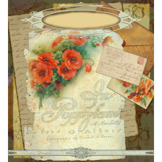 Poppy Antique Style Art Design