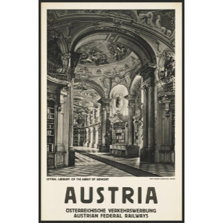 Austria Styria Library of the Abbey of Admont