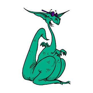 Cool Hippy Dragon