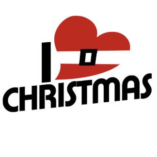 I love santa and christmas