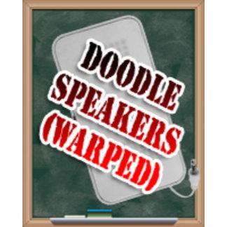Warped Doodle Speakers