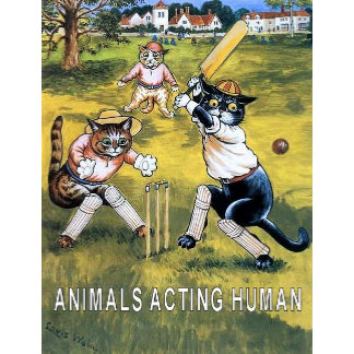 ANIMALS ACTING HUMAN