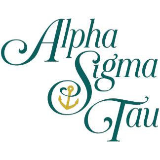 Alpha Sigma Tau Vertical Mark