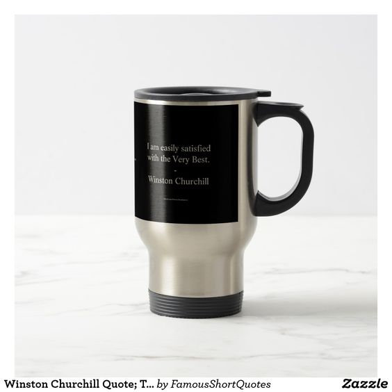 Famous Quote Travel Mugs