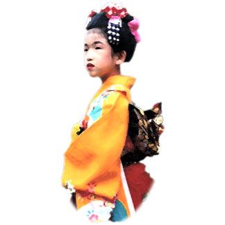 A Girl in Kimono