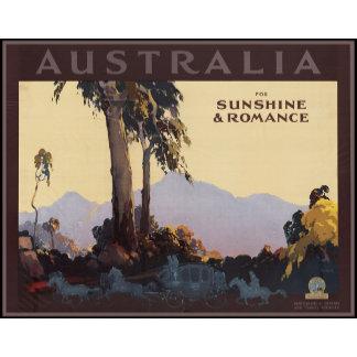 Australia for sunshine & romance