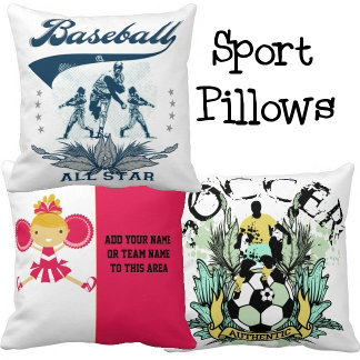 SPORTS PILLOWS