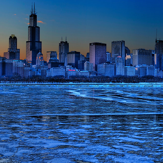 City of broad shoulders and lake Michigan
