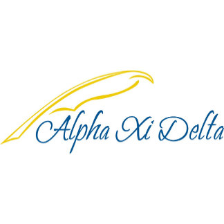 Alpha Xi Delta with Quill
