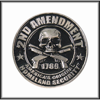 2nd Amendment Medal