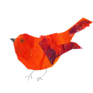 Cute Red Bird