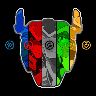 Voltron | Pilots In Voltron Head