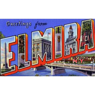 Greetings from Elmira New York