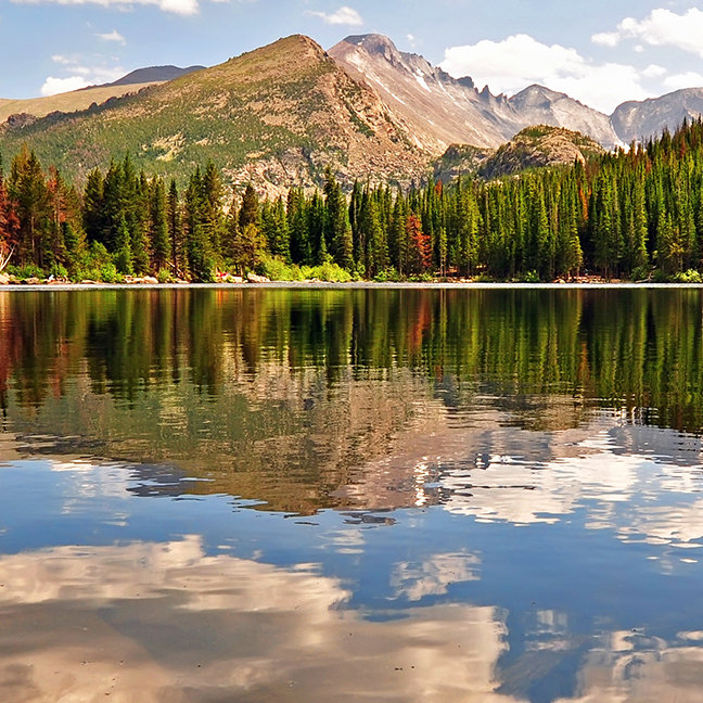 Bear Lake. Colorado.