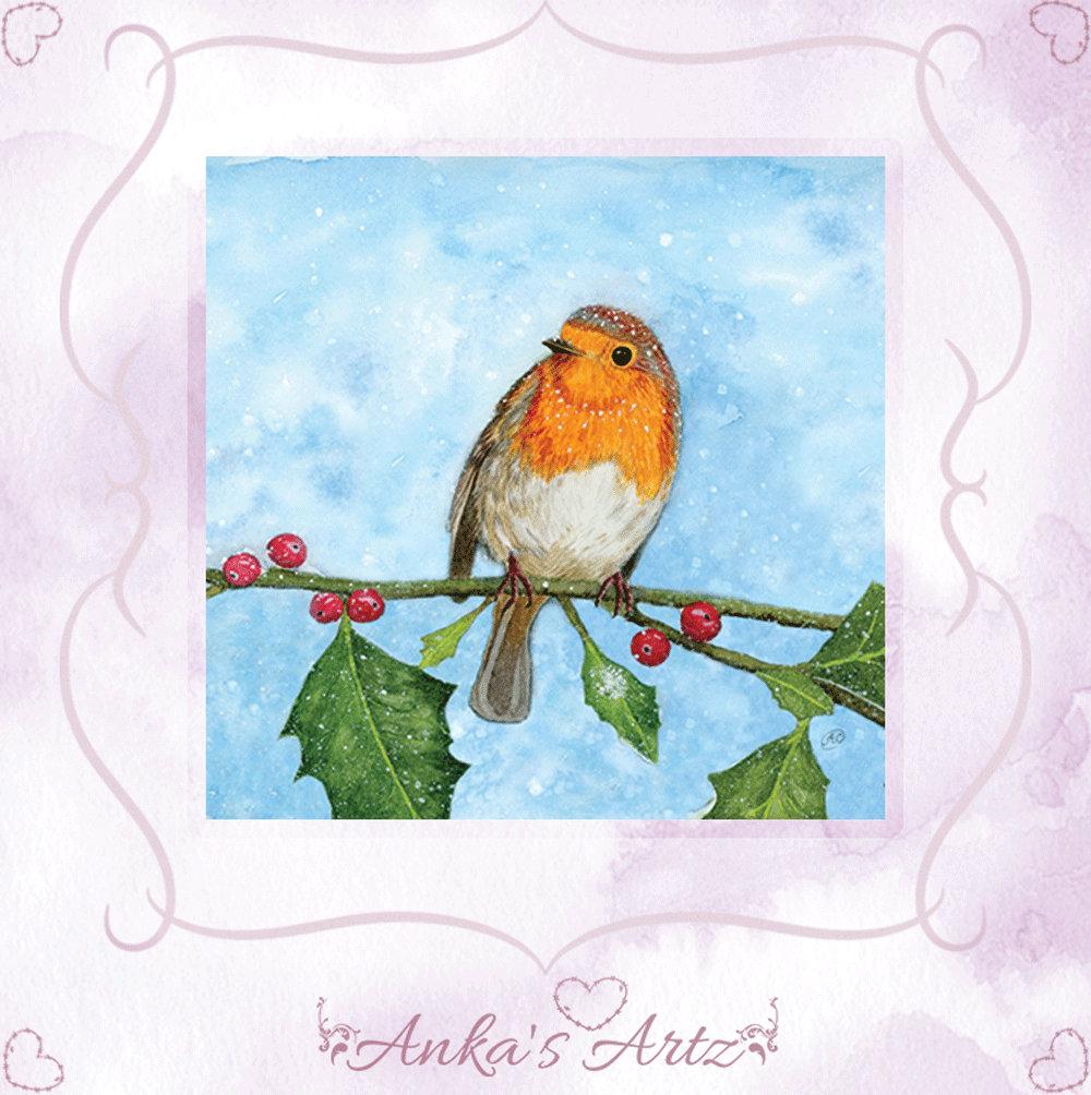 By design ~ Robin Red Breast Bird