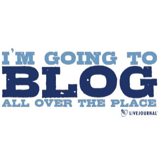 I'm going to blog all over the place