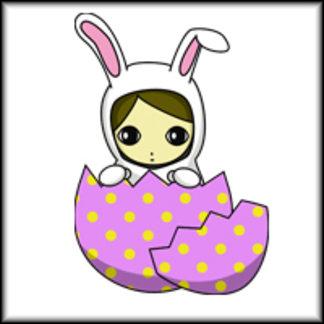 Easter Bunny Girl