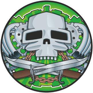 Steel Skull Crest