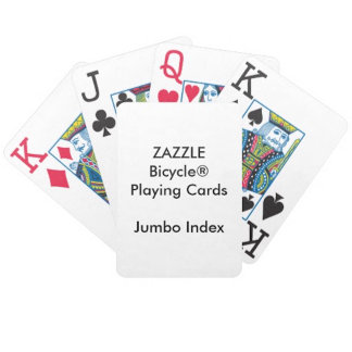 Bicycle® JUMBO INDEX Faces