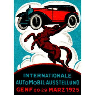 Vintage Automotive Posters