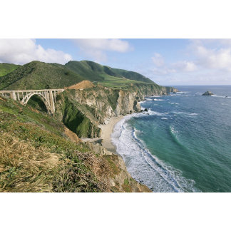 Bixby Bridge, Big Sur Coast, California.