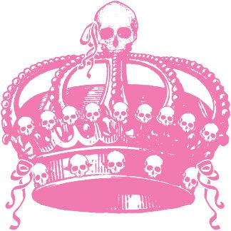 Pink Crown of Skulls