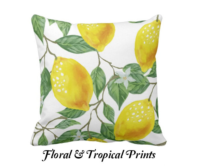 FLORAL & TROPICAL PILLOWS