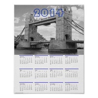2014 London CALENDARS