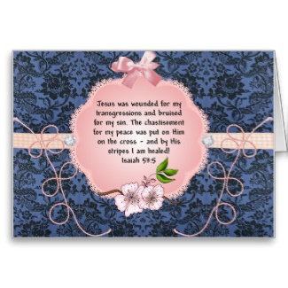 Healing Prayer Note Cards