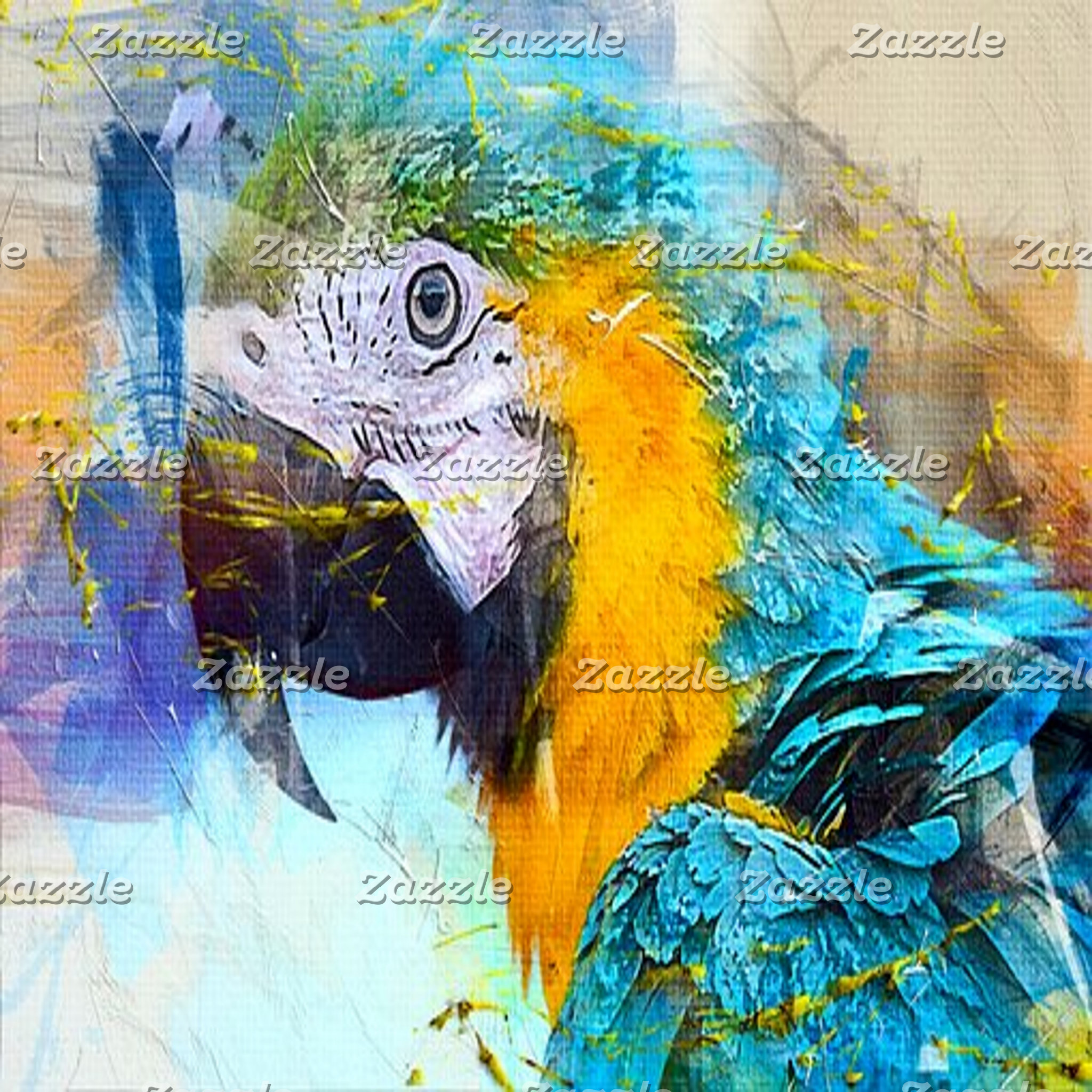 Abstract Art - Birds
