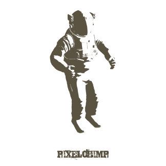 Stencil Astronaut
