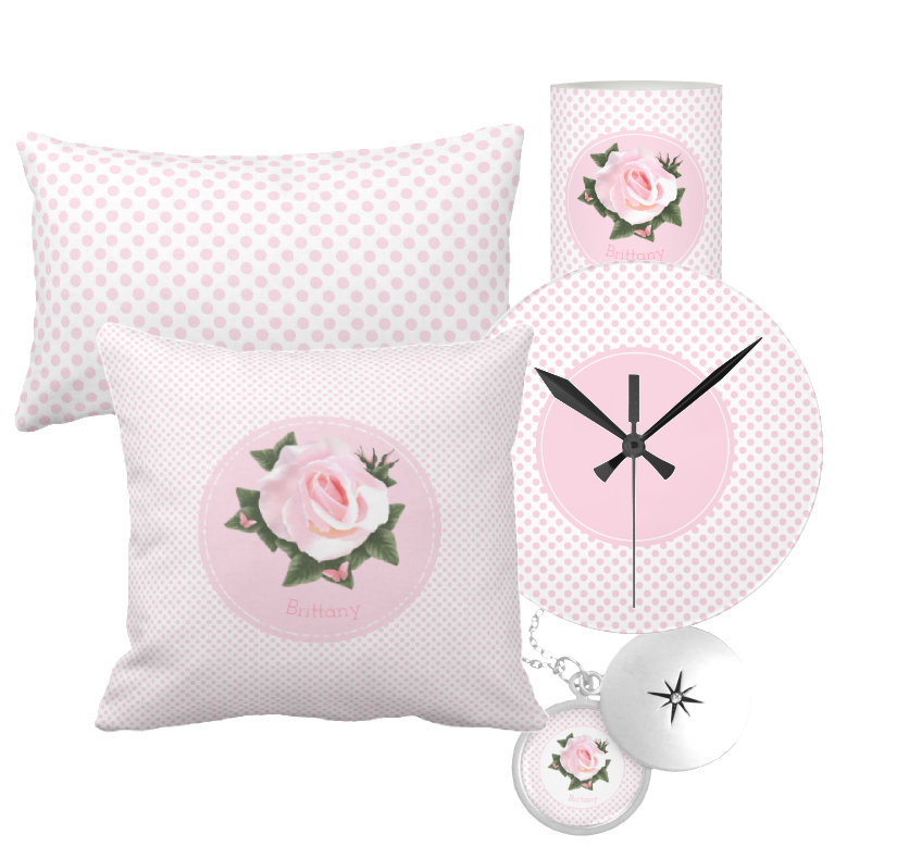 Classic Pink Rose Flowers